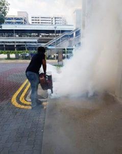 fogging mosquitoes singapore